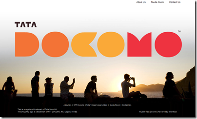 TATA DOCOMOホームページ